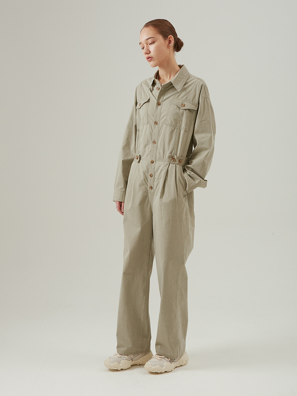 EAS JUMPSUIT_LIGHT KHAKI