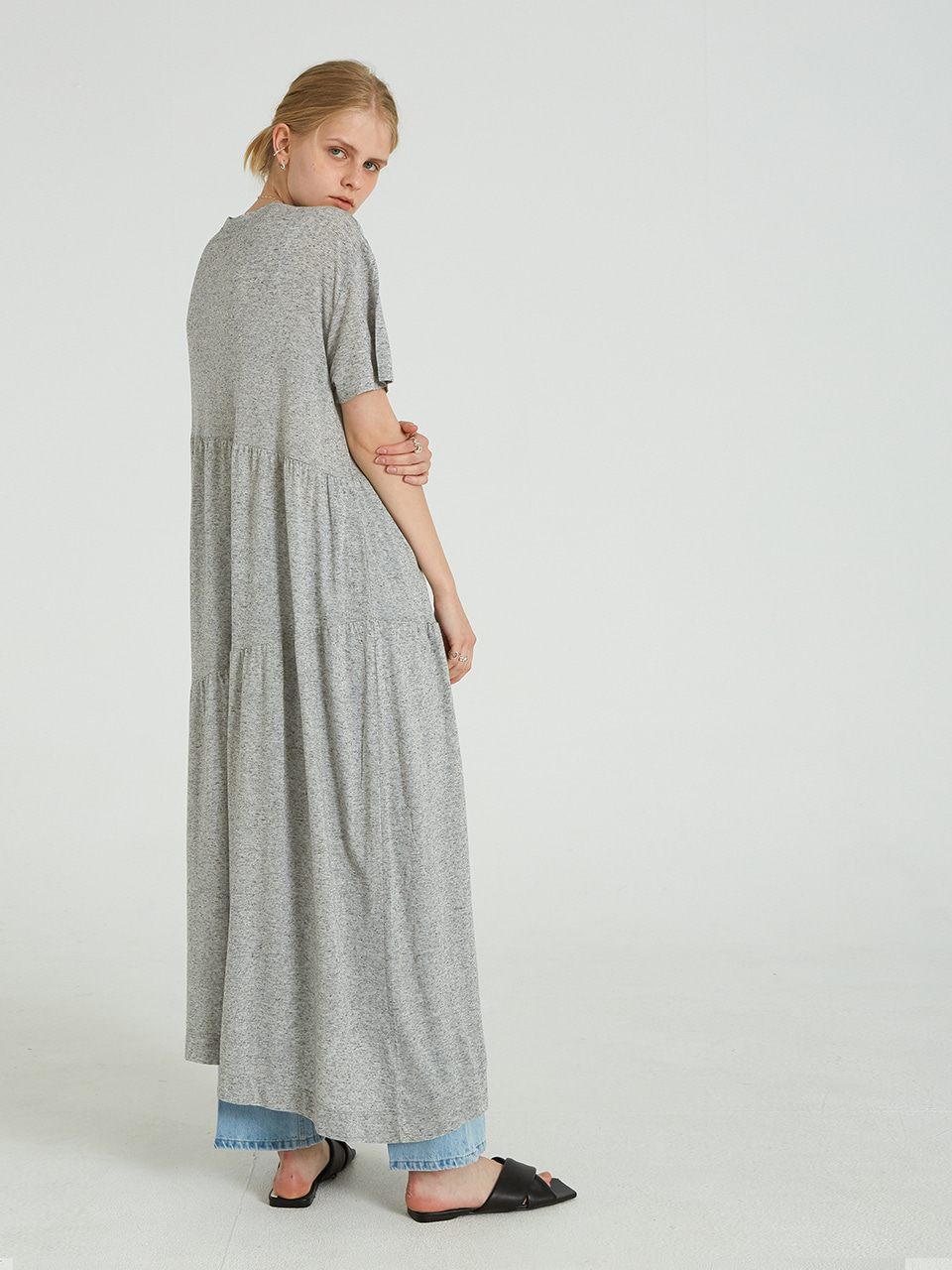 UNBALANCE LINEN LONG OPS_GREY