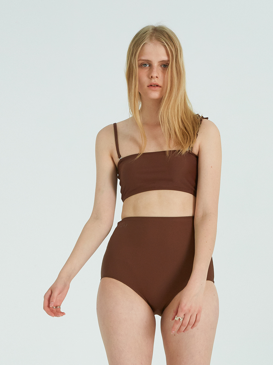 ELLON BIKINI SET_BROWN