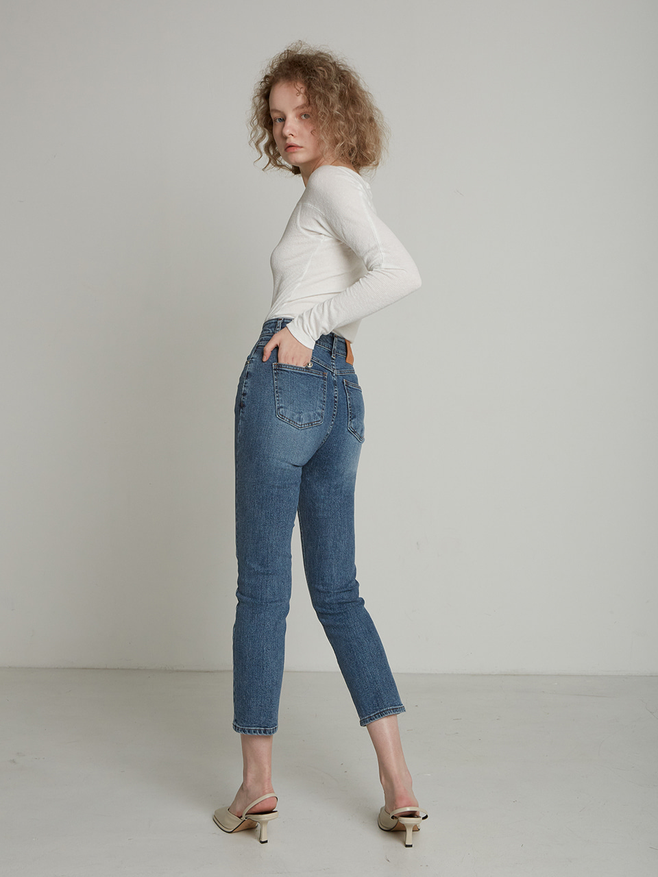 SLIM STRECH SPAN DENIM PT_DARK INDIGO