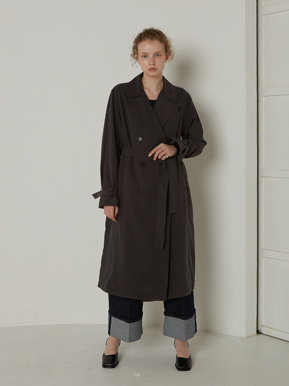 BASIC TRENCH CT_CHARCOAL