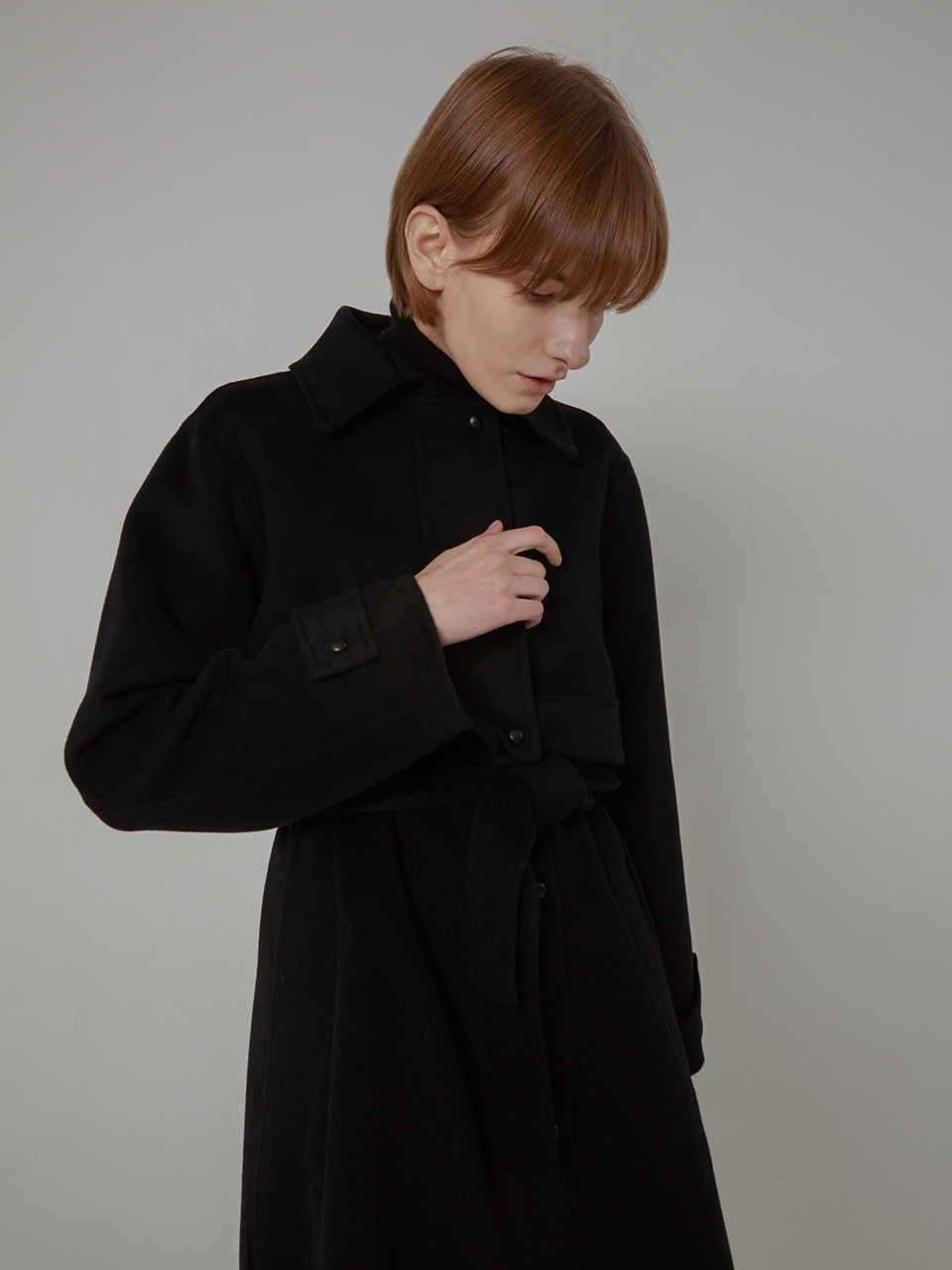 LAYER CASHMERE HANDMADE CT_BLACK