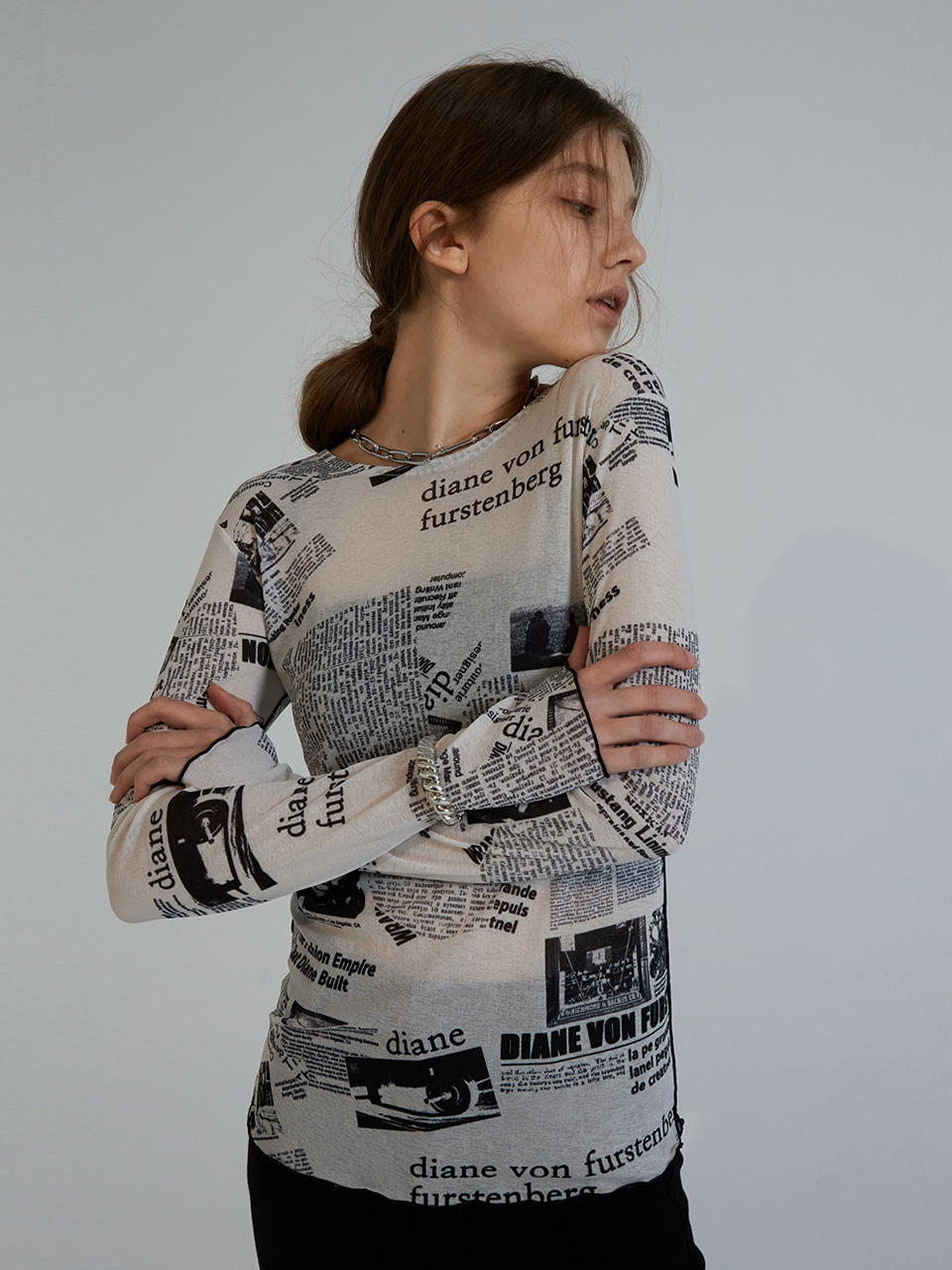 NEWS PAPER T-SHIRTS_WHITE