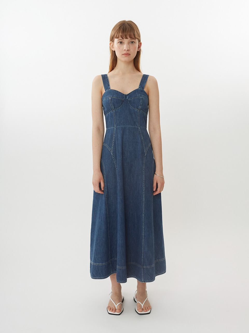 DOROTHY DENIM LONG OPS_DARK INDIGO